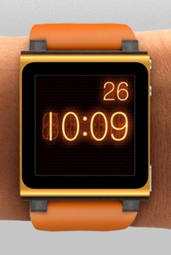 Apple Ipod Nano 6g Clock