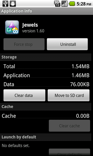 move app into SD card in android 2.2 Froyo
